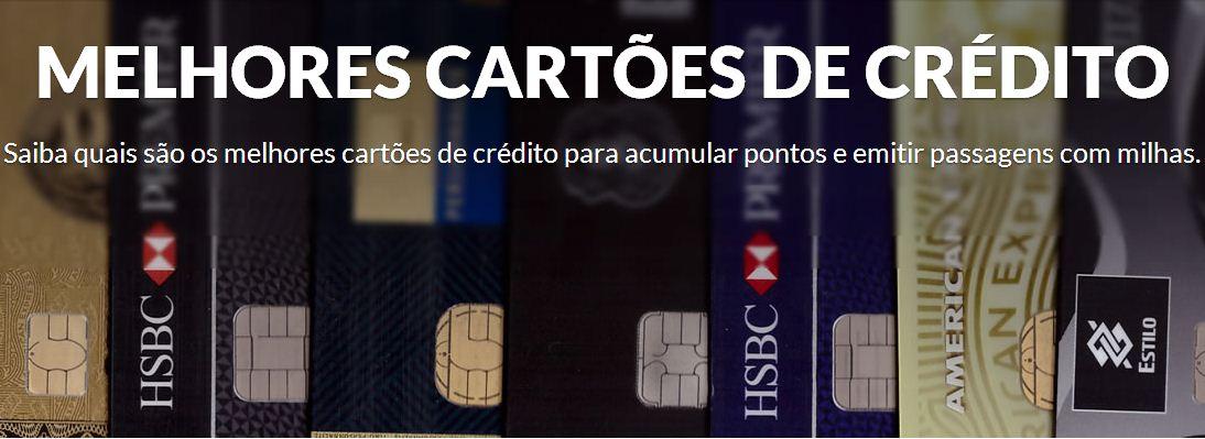 melhores cartoes credito